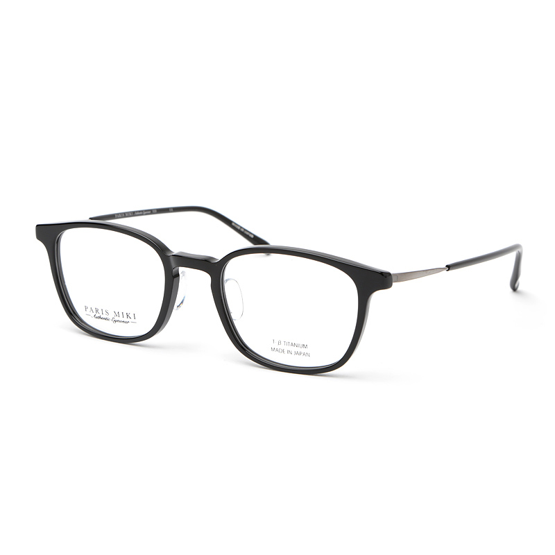PARIS MIKI Authentic Eyewear 020 ブラック/ライトグレー_51