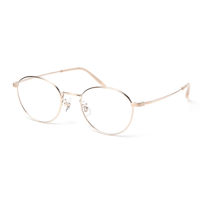 PARIS MIKI Authentic Eyewear 033 ゴールド 48