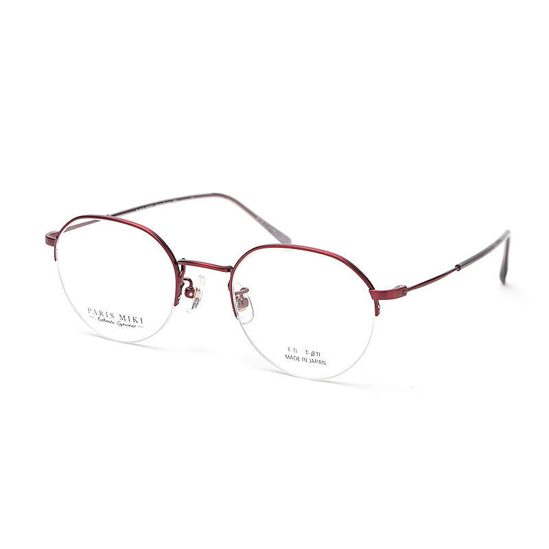 PARIS MIKI Authentic Eyewear 025 レッドマット