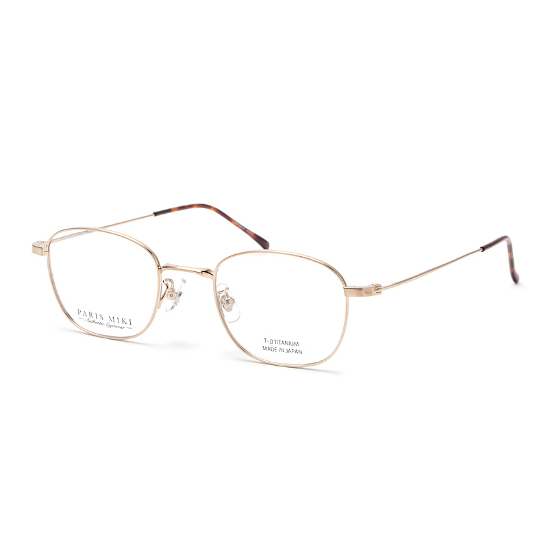 PARIS MIKI Authentic Eyewear 002 ゴールド