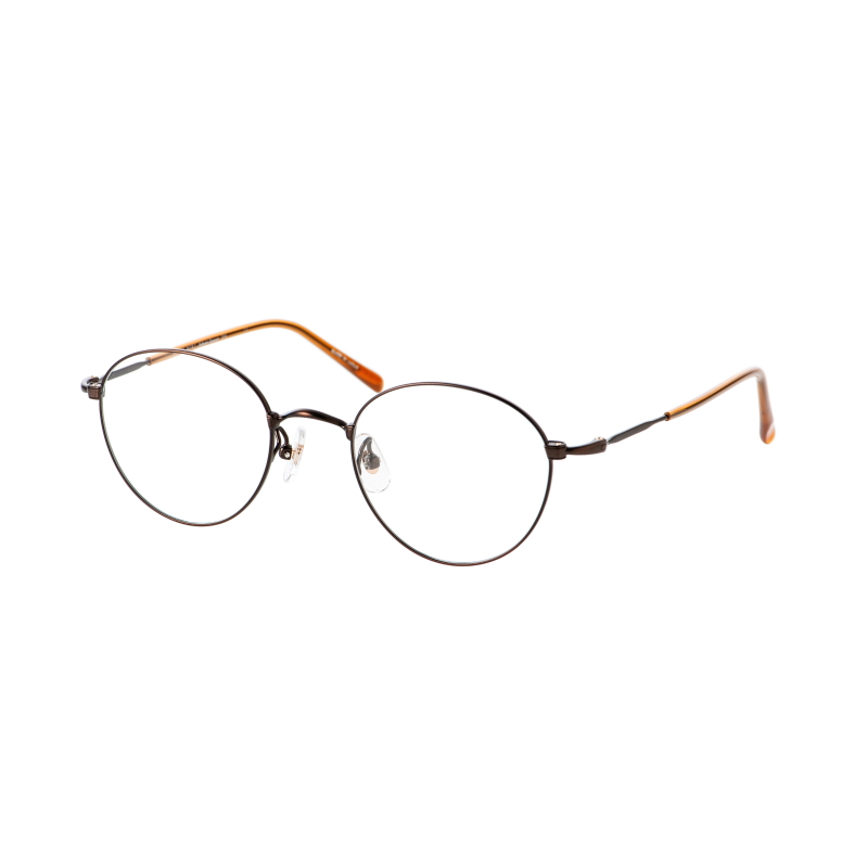 PARIS MIKI Authentic Eyewear 014 ブラウンマット_47